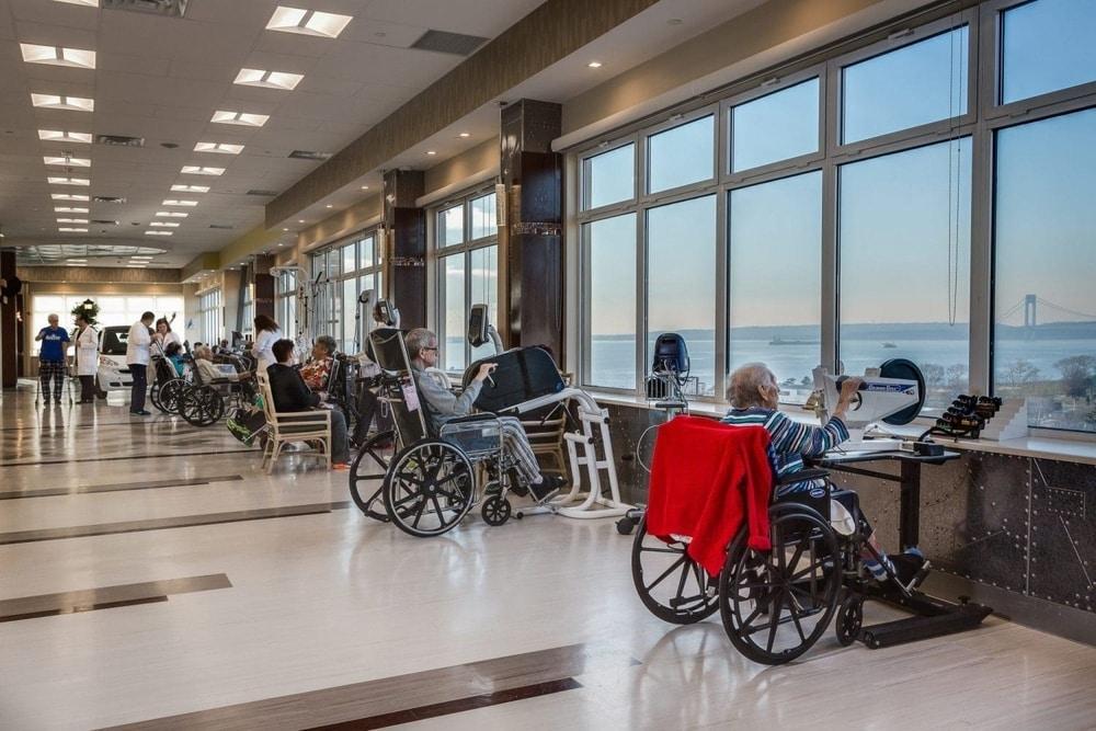 post-surgical care rehab brooklyn rehabilitation nursing home new york gym haym salomon