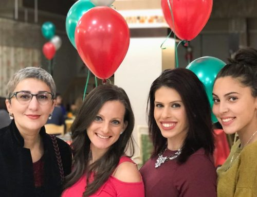 Holidays Party was held at the Haym Salomon Home for Nursing and Rehabilitation
