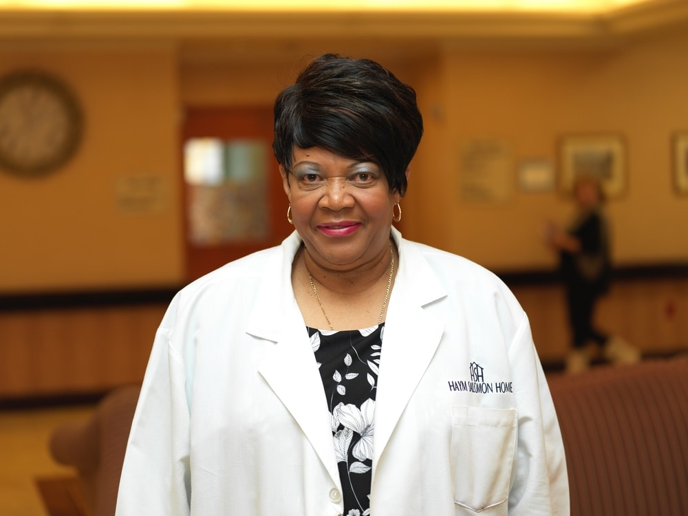A portrait image of Veronica Jack - Director of Nursing at Haym Salomon Home for Nursing & Rehabilitation