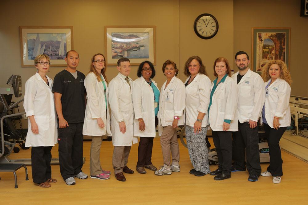 A team image of Haym Salomon Home Rehabilitation team for senior living