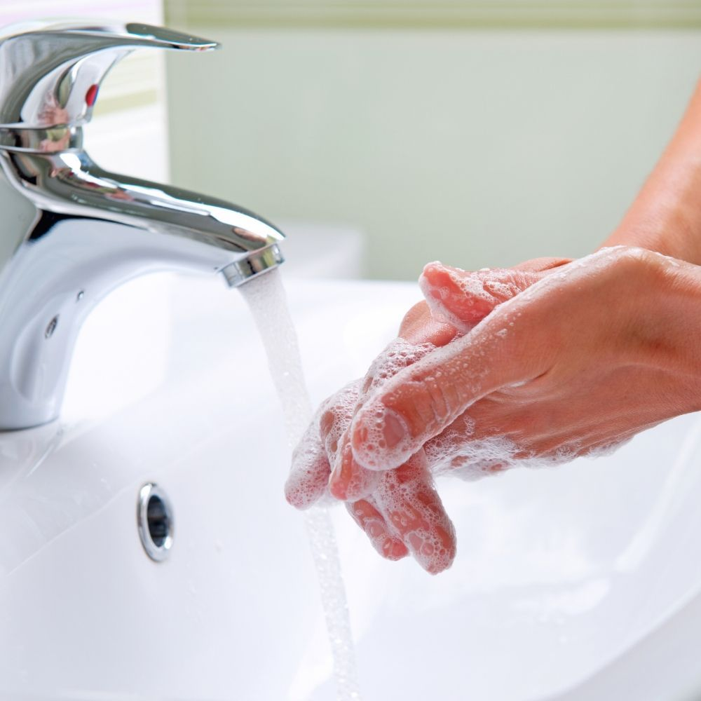 Washing your hands properly can help you in managing infections.