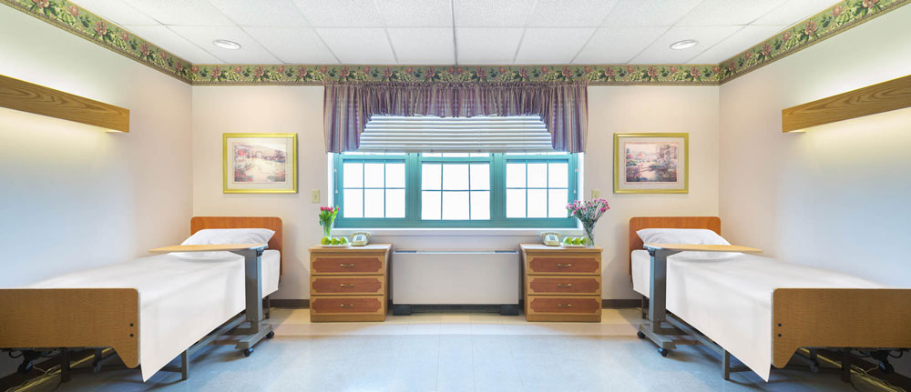Consider a nursing home for your loved ones with neat and clean bedrooms.