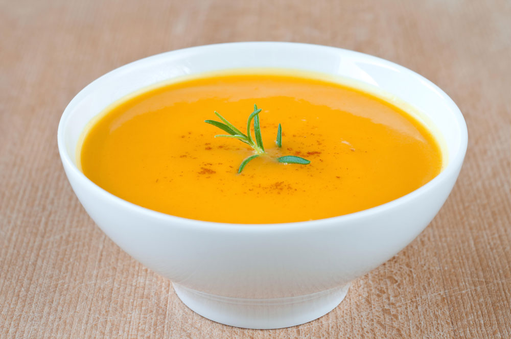 Vegetable soup for colostomy patients